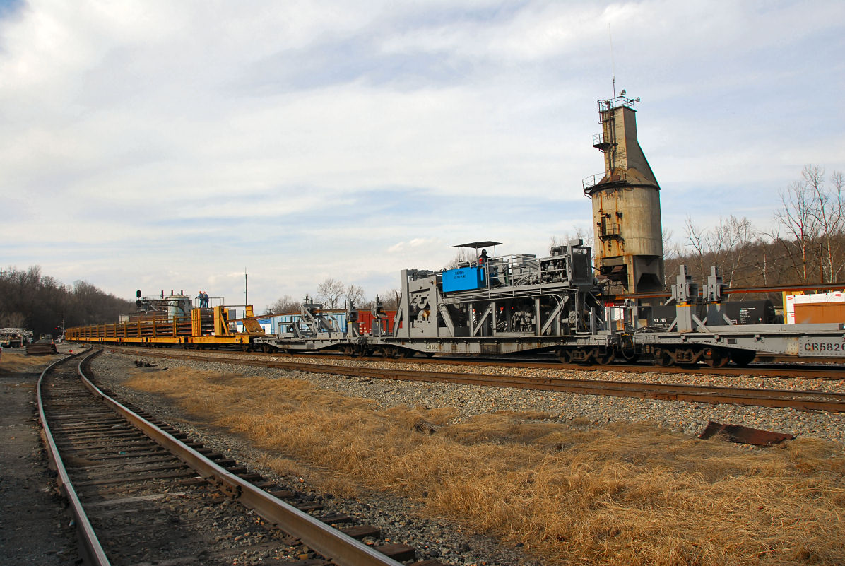 Continuous Welded Rail Train
